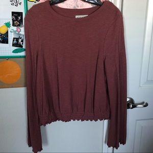 MW smocked blouse